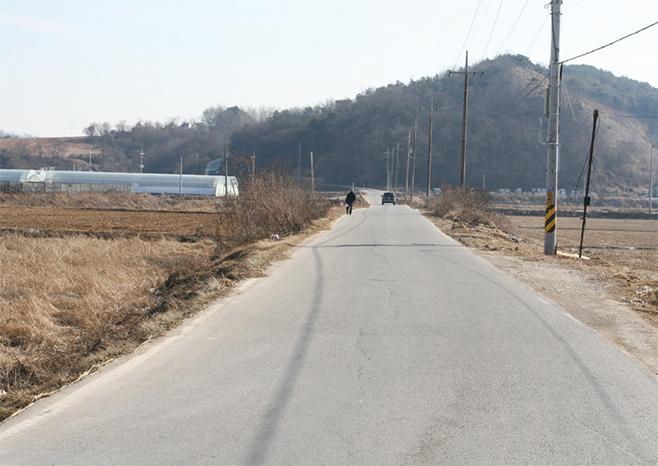 일제강점기 동척농장들 간척의 흔적 장둑(2008)
