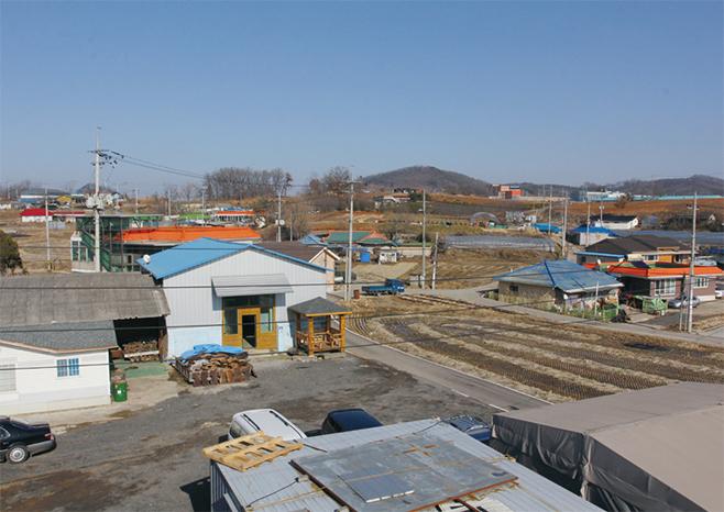 조선후기 감미동면의 중심 고렴1리 감미동(2013)