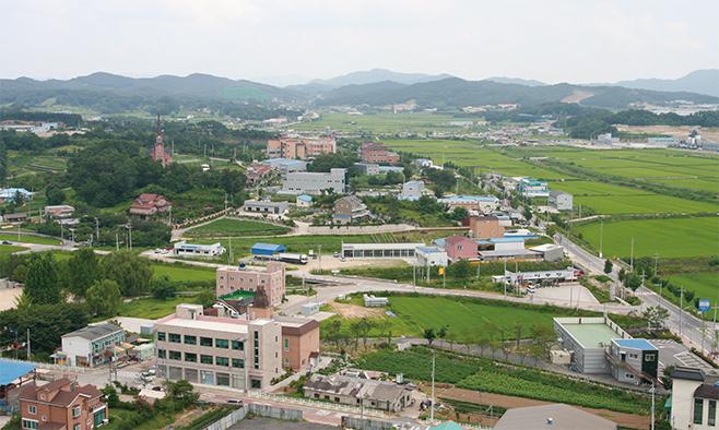송탄동 가재리교회 일대(2008)
